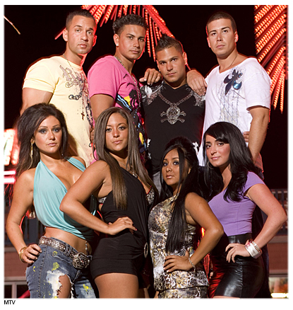 Jersey Shore's In Italy On Site Production Delayed - The Italians Don't Want Them!