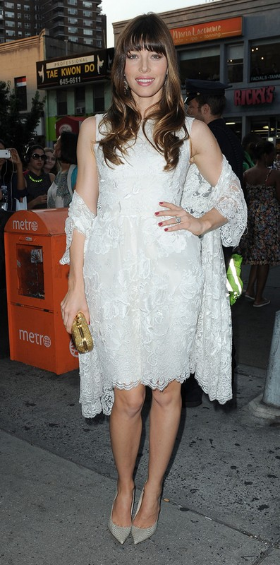 Jessica Biel's Wedding Gown Has Been Revealed (Photo)
