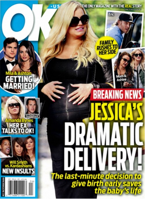 Jessica Simpson's Dramatic Delivery - Last Minute C-Section Decision