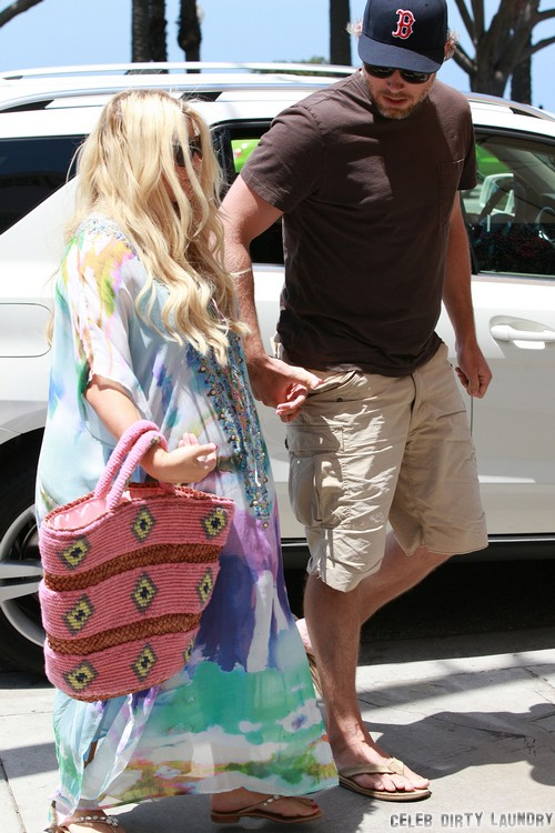 Jessica Simpson's Third Pregnancy: Weight Watchers Want Weight Loss After Ace Knute Johnson