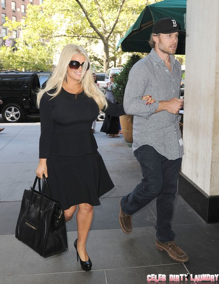 Jessica Simpson Bans Father Joe Simpson From Future Wedding -- He's an Embarrassment!