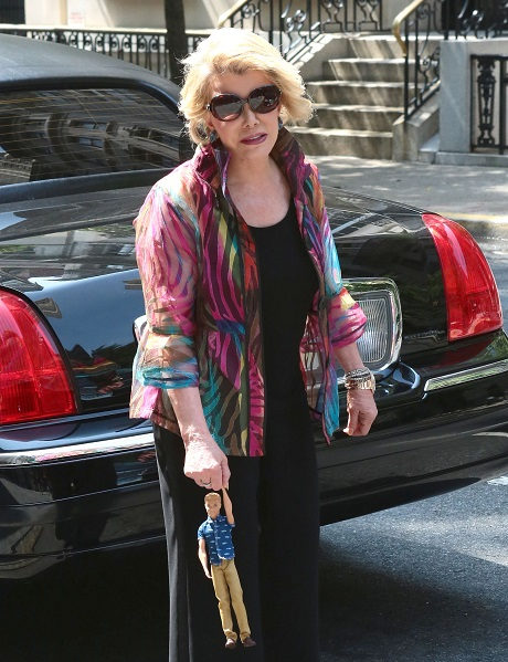 Joan Rivers Remains In Critical Condition After Minor Throat Surgery - Fully Reliant On Machines To Stay Alive!