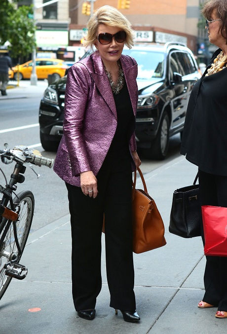 Joan Rivers Attacked By PETA At Recent Book Signing - Responds To Her Haters With Mad Diva Snark!