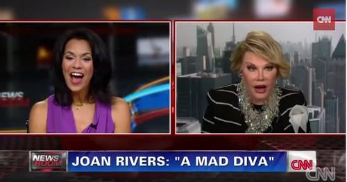 Joan Rivers Walks Out Of CNN Fredricka Whitfield's Negative Interview (VIDEO)