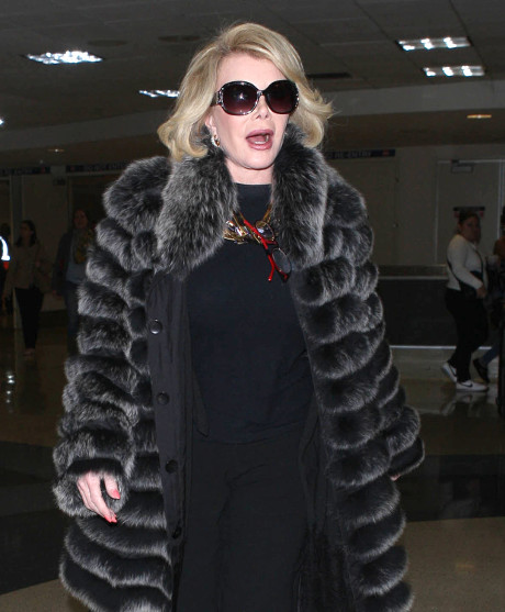 Joan Rivers Defends Alec Baldwin by Shouting Every Racial Slur Imaginable -- She says Everyone's too Uptight! (VIDEO)