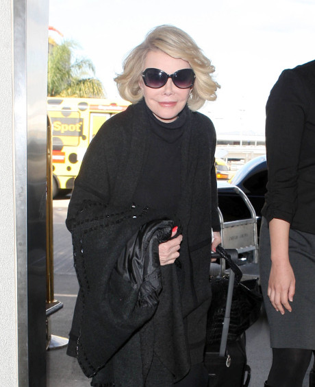 Joan Rivers Blasts Kim Kardashian's Daughter North West: She's Ugly and in Need of Waxing!