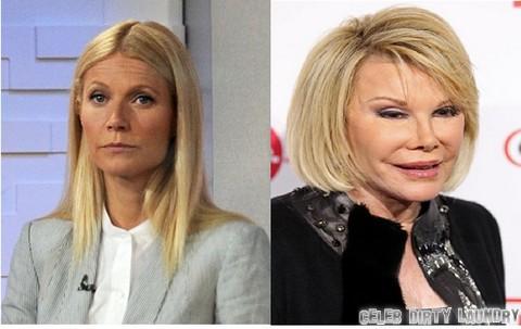 oan Rivers Responds To Gwyneth Paltrow's Harper's Bazaar Botox Crazy Insult