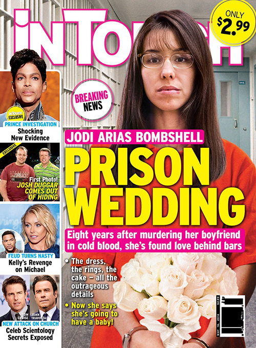 Jodi Arias Prison Wedding: Will Marry Behind Bars – Vows To Have Baby With New Husband