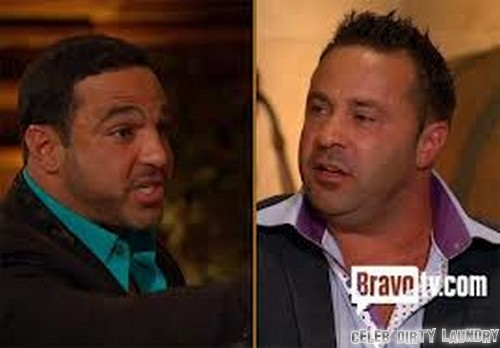 RHONJ's Joe Gorga & Joe Giudice Get Into Physical Fight (Video)