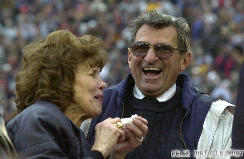 Joe Paterno's Widow Defends His Memory After Jerry Sandusky Sex Abuse Scandal
