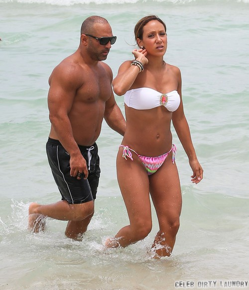 Semi-Exclusive... Melissa & Joe Gorga Hit The Beach In Miami