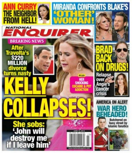 Kelly Preston Collapses After $200 Million John Travolta Divorce (Photo)