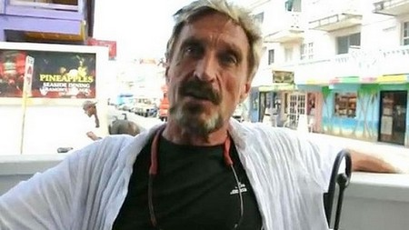 Accused Murderer John McAfee: Bath Salt Drug Abuse