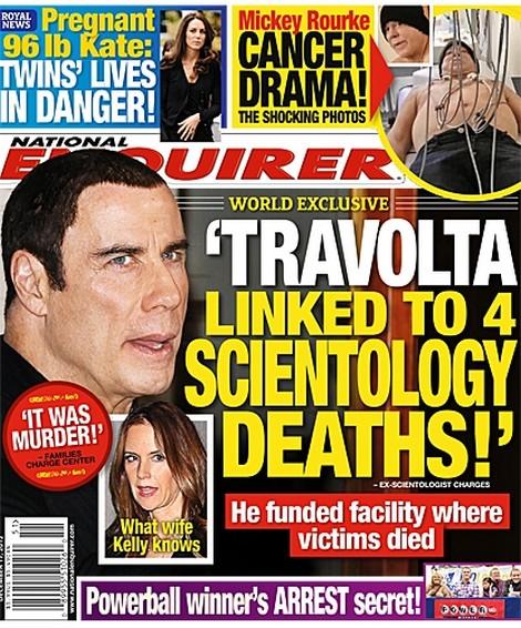 John Travolta Linked To 4 Scientology Deaths (Video)