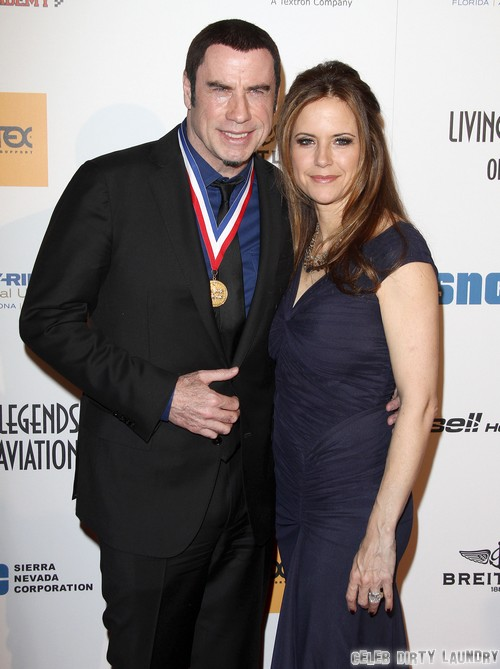 "John Travolta Poisons Kelly Preston's New TV Show – ""Keep Calm and Karey On"" A Scientology Nutbag Showcase"