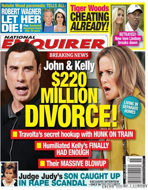 John Travolta and Kelly Preston Separate: Move To Different Homes As She Files For Divorce - Report