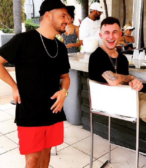 Johnny Manziel Chugs Alcohol At 8 am On Yacht In Miami