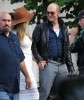 Amber Heard Visits Johnny Depp On The Set Of 'Black Mass'