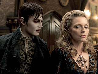 Johnny Depp Is Hollywood's Next Vampire: Teams Up With Tim Burton In 'Dark Shadows'