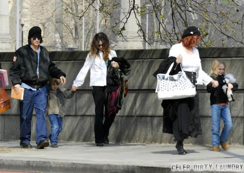 Johnny Depp's Children In Deep Trouble After Vanessa Paradis Split But He's In Denial