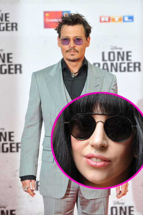 Johnny Depp & Lady Gaga Go Out On Secret Date? Find Out if these Two Oddballs are a Couple!