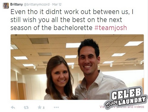 The Bachelorette 2014 Spoilers: Josh Murray Winner Cheating on Andi Dorfman With Ex-Girlfriend Brittany McCord - CDL Exclusive