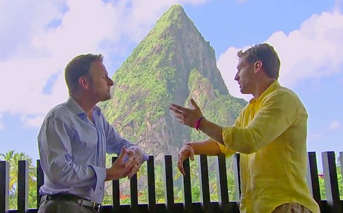 Bachelor's Chris Harrison Fights With Juan Pablo After Andi Dorfman Quits - Language Barrier Problems? (VIDEO)