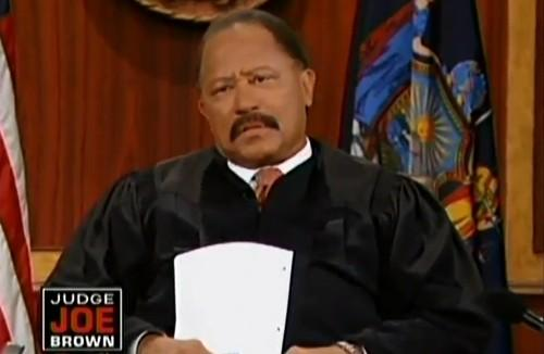 Judge Joe Brown Arrested - His Courtroom Meltdown Lands Him In Jail! (AUDIO)