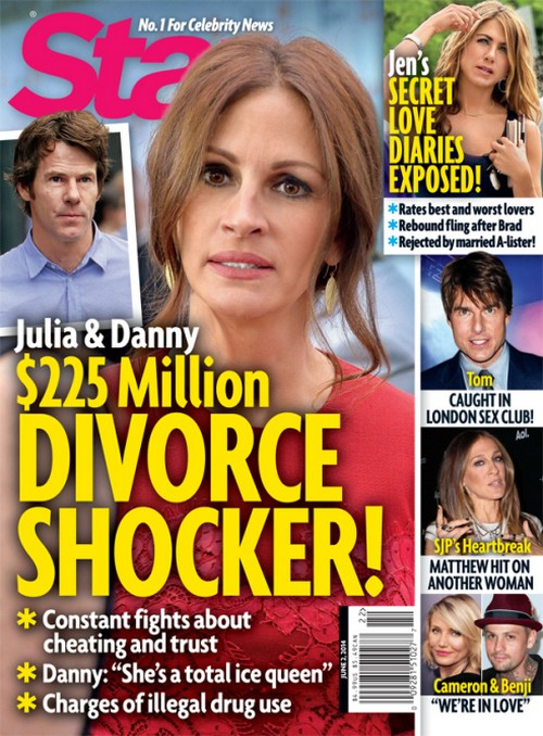 Julia Roberts Divorce: Splits From Danny Moder - Marriage Over? (PHOTO)