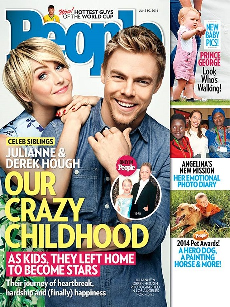 Julianne Hough And Derek Hough Survived Childhood Scandal To Become World Famous Ballroom Dancers! (PHOTO)