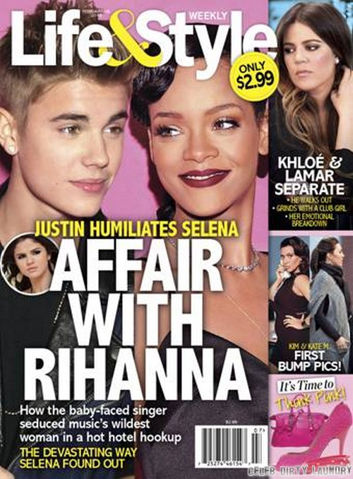 Justin Bieber's Affair With Rihanna Revealed!