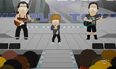 Justin Bieber Killed On South Park (Video)