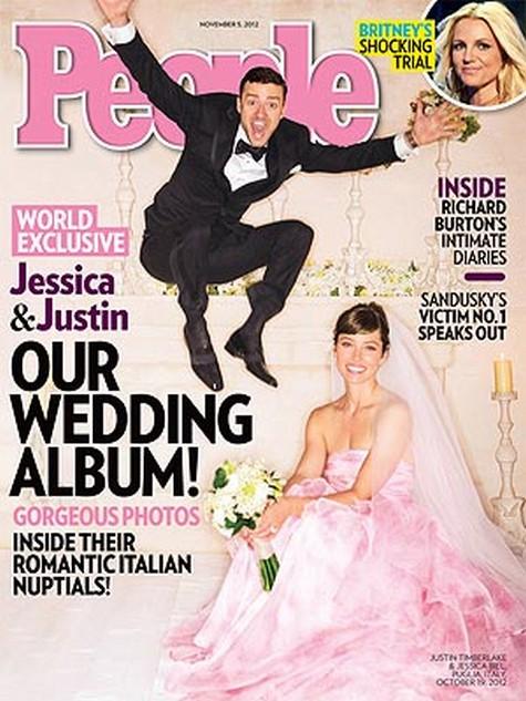 Justin Timberlake & Jessica Biel's Wedding Photo & Details Revealed (Photo)
