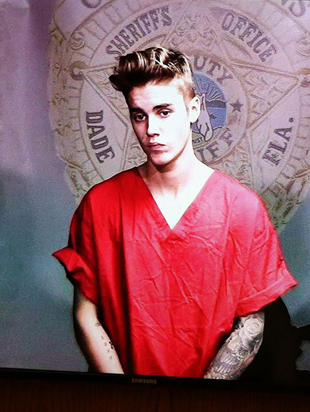 Justin Bieber Drug Testing Part of DUI-Resisting Arrest Plea Deal