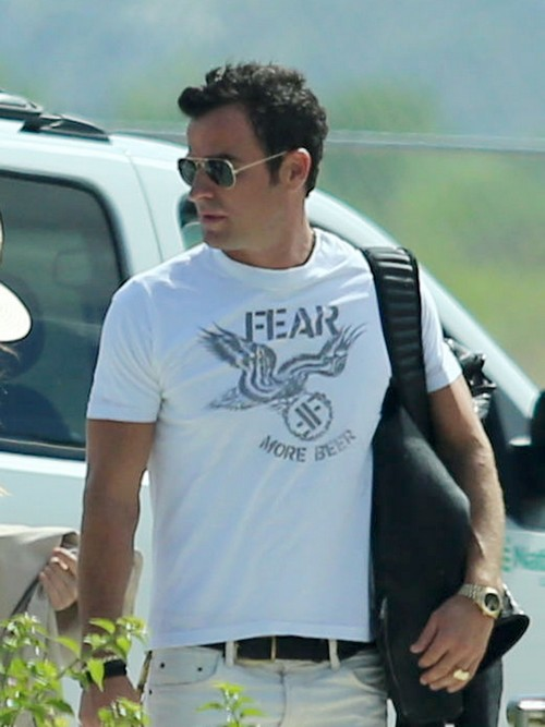 Justin Theroux Cheated On Jennifer Aniston at Robert Downey Jr.'s Party