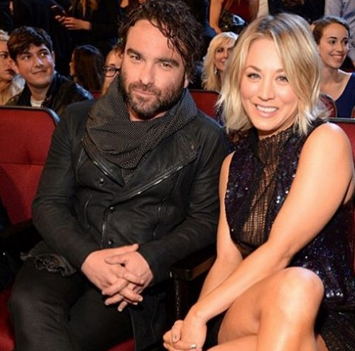 Kaley Cuoco and Johnny Galecki Friends With 'Big Bang' Benefits?