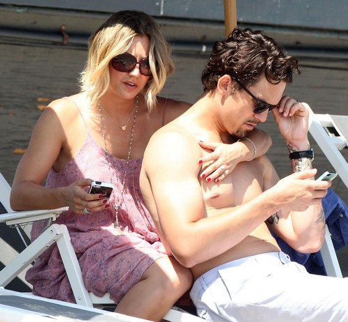 Kaley Cuoco and Ryan Sweeting Divorce Looms: Zooey Deschanel and Ryan Flirting - Marriage In Trouble?