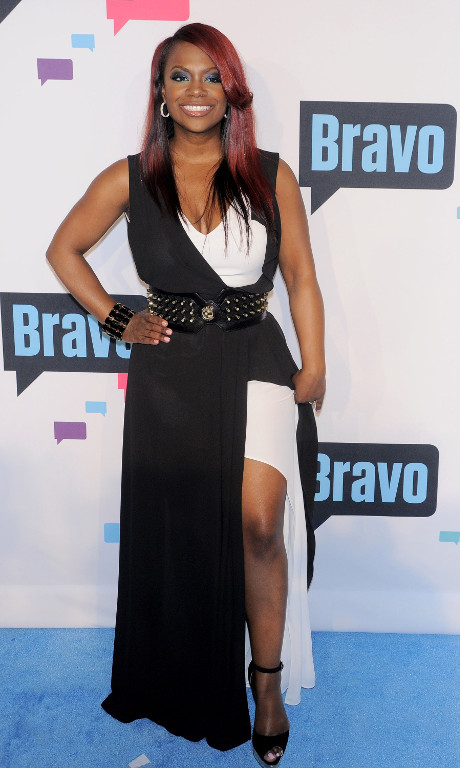 Kandi Burruss Laughs At Ex Chuck Smith's Cowardly Reaction During The RHOA Fight