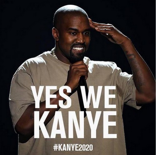 Kanye West Running For President in 2020 - Kim Kardashian First Lady With a Sex Tape - 2015 MTV VMAs Annoucement