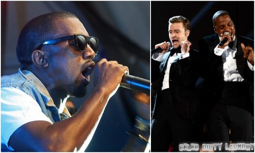 Kim Kardashian & Kanye West Ban Justin Timberlake & Jessica Biel From Wedding Over Rapper's Feud?