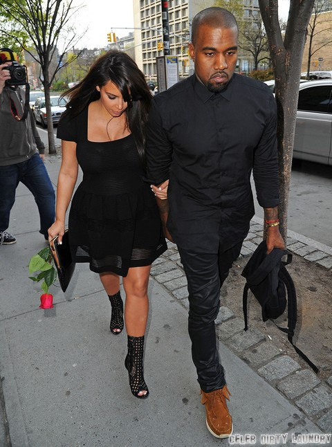 Kanye West To Abandon Kim Kardashian After She Gives Birth, Kim To Raise Baby Alone - Report