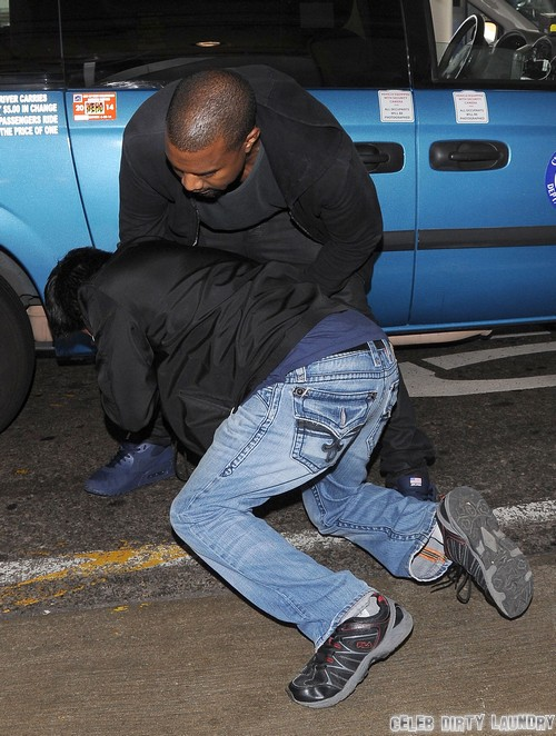 Kanye West Brutally Assaulted A Mentally Unstable Child-Man With Over 30 Blows - Defending Kim Kardashian?