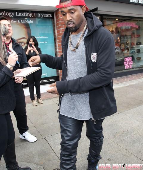 Kanye West Says He'd Trade Kim Kardashian for a Grammy!