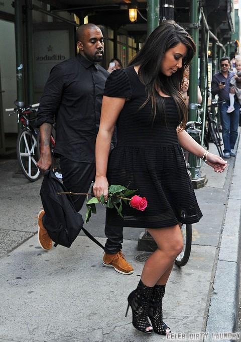 Kanye West To Abandon Kim Kardashian After She Gives Birth, Kim To Raise Baby Alone - Report