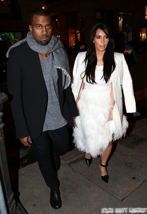 Kanye West Dumping Pregnant Kim Kardashian To Save His Brand