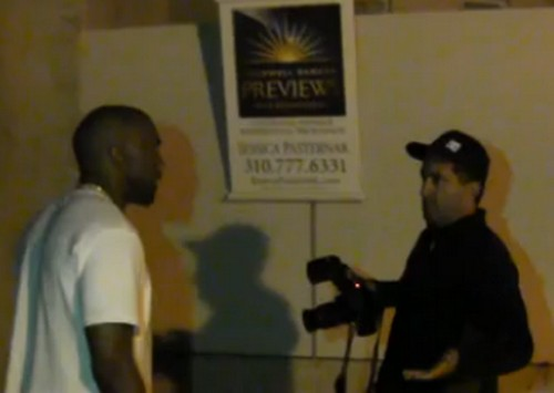 Kayne West Freaks Out At Paparazzi Over Jimmy Kimmel Feud - VIDEO