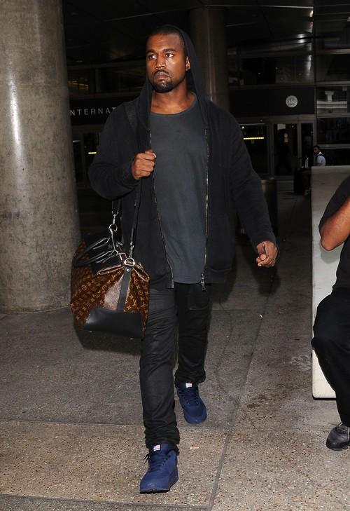 Kim Kardashian Won't Go Out With Kanye West So He Goes Alone