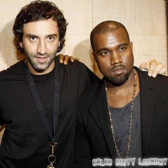 Kanye West and Riccardo Tisci's Gay Bromance Freaks Out Kim Kardashian