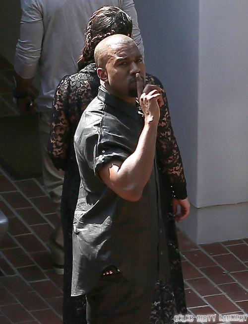 Kanye West Slut-Shaming Kim Kardashian in New Song – Disses Baby Mama