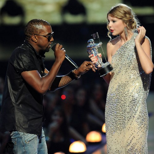 Kanye West Disses Taylor Swift In Secret Newly Discovered Rant From 2009 VMAs (AUDIO)